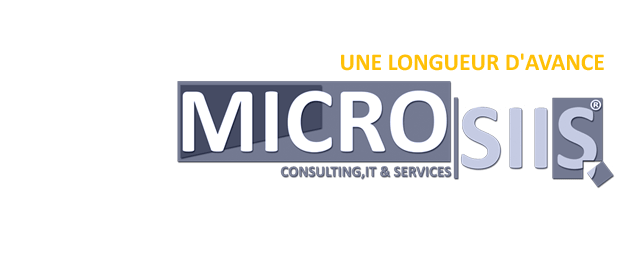 Microsiis Consulting, IT & Services, Solution ERP, Solution web et intranet, Certification ISO, Mise a niveau ANDPME
